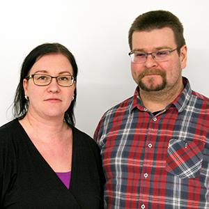Ari-Pekka ja Sari Juuso